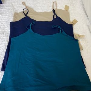 NWT 3 each Coldwater creek size XL camisoles
